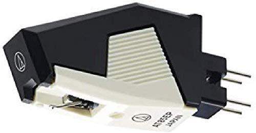 Audio Technica AT85EP Replacement Cartridge P-Mount Elliptical Stylus (Black/White)