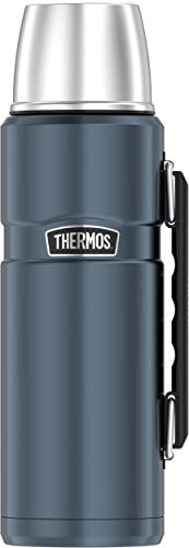 Thermos Stainless Steel King 40 Ounce Beverage Bottle, Slate