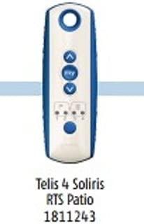 1 QTY:SOMFY 5 Channel Telis Soloris 4 RTS Patio Remote: (MPN # 1811243)