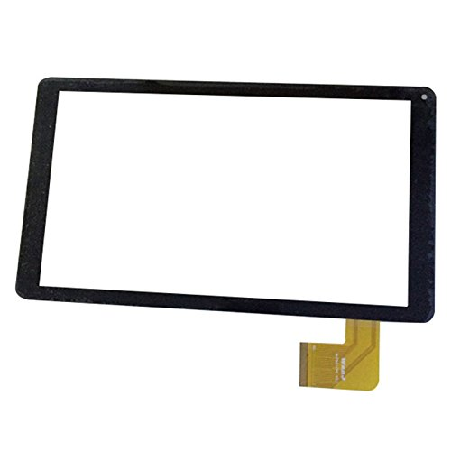 Negro Color EUTOPING  De Nuevo 10.1 Pulgadas Pantalla tactil Digital La sustitución de para Woxter SX110 SX 110