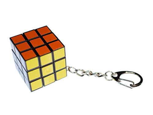 Miniblings Cube Jeu des années 80 3x3 Magique Cube de rétro - Bijoux à la Mode Main I I Pendentif Trousseau de clés Porte-Clef