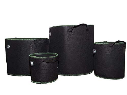 Grow Bag │ 3 STK. │ Größe 7 Gallon ( 26,49 Liter)│ Blumentopf aus Stoff │ Pflanzentasche │Deutscher Anbieter mit Versand aus Deutschland (7 gal.)