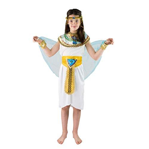 Egyptische farao keizerin Cleopatra Kostuum voor kinderen (leeftijd 4-6)