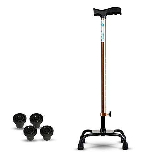 JIEER-C Ergonomische stoel wandelstokken, voor ouderen, antislip, uitschuifbaar, antislip wandelstok voor ouderen, draagbare multifunctionele Een