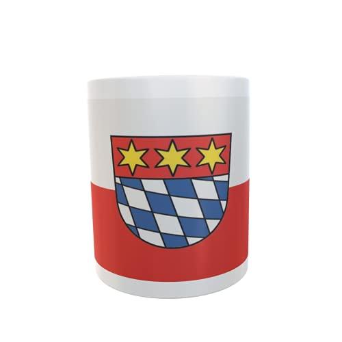 U24 Tasse Kaffeebecher Mug Cup Flagge Dingolfing