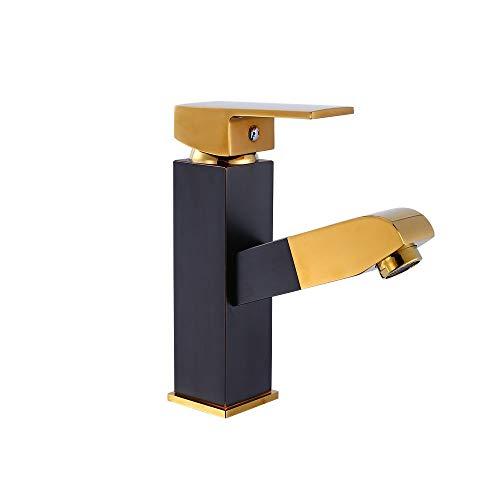 LDH Diseño Creativo Hogar Solo Agujero telescópico del Tipo de extracción Grifo