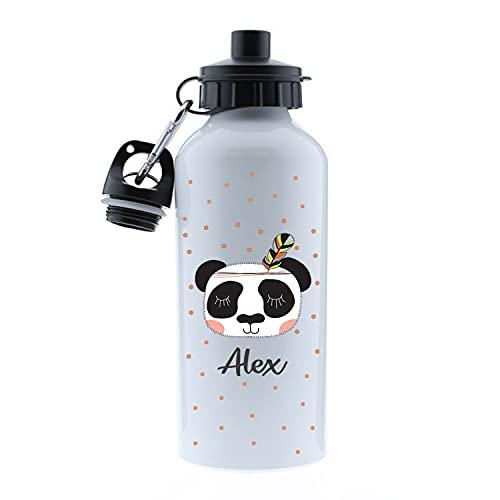 Kembilove Botella de Agua Niños Personalizada con Nombre – Cantimplora Infantil Acero Inoxidable – Regalos Infantiles Personalizados – Botellas Térmicas de 500 ml – Diferentes diseños