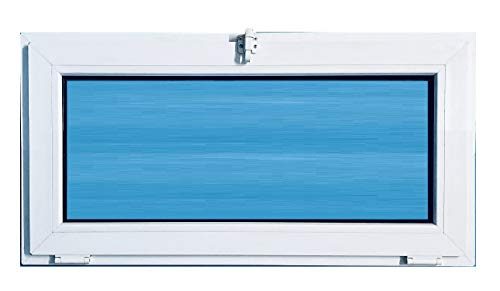 (V09T) Ventana pvc 1000x500 Abatible Golpete Climalit