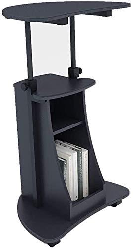 genneric Podium Begrüßungsempfang Meeting Conference Chair Verschiebbare Aufzug Einfache Tabelle Lecture Schreibtisch Schreibtisch des Lehrers Speaking (Color : Blackstone)