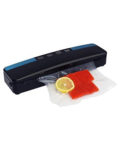 Caiven Lebensmittel Vakuumiergerät + 50 Vakuumbeutel, Folienschweißgerät für Sous Vide garer, 4 in 1 vakuumirrer, 30cm Schweißnaht Vakuumierer Vacuum Sealer für Lebensmittelaufbewahrung