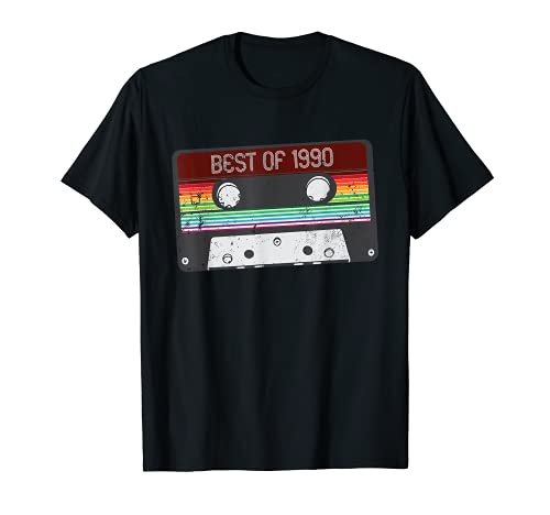 Best Of 1990 - Cinta de casete para 30 cumpleaños Camiseta
