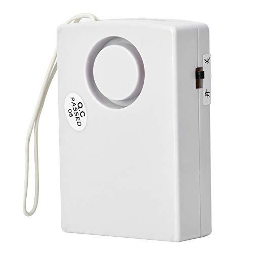 120 dB Alarma de Seguridad, Inalámbrico Detector, Magnético Inicio Puerta Ventana Sensor, Alarma Seguridad Antirrobo con Casa/Tienda/Oficina