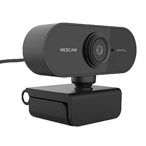 Shiwaki Smart 1080P HD Webcam PC Desktop Laptop Cámara Web CAM con Micrófono