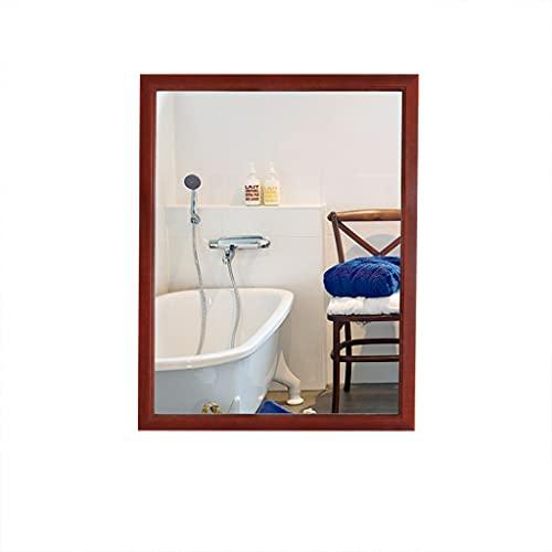 El Moderno Espejo Montado En La Pared, El Marco De Madera, El Espejo Montado En La Pared Se Pueden Colgar Horizontalmente O Verticalmente, Baño, Sala De Estar(Color:700mm×900mm)