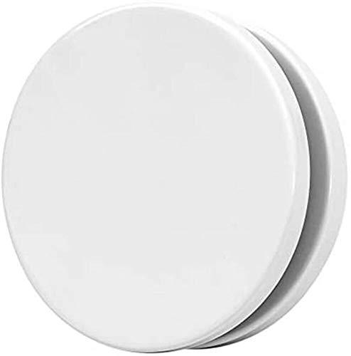 Tellerventil TEE - Zuluft 80mm weiß pulverbeschichtet