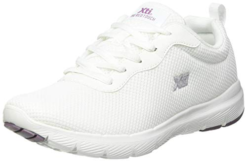 XTI 42562, Zapatillas Mujer, Blanco, 40 EU