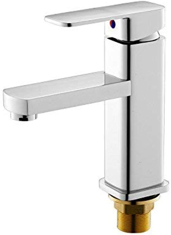 ZHAS Waschbecken Leitungswasser Mischbatterie Heien und kalten Wasserhahn einzigen Krper Einlochmontage einzigen Wasserhahn, EIN Wasserhahn Monomer