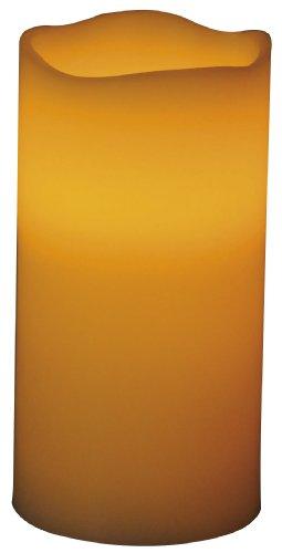 Beco 1 LED echte waskaars, 7,6 x 15,2 cm, exclusief 3 x AAA batterij, champagne 883.00