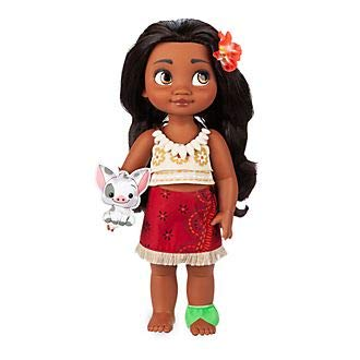 Disney Store Moana Animator Toddler Doll 15 'Toy With Turtle Pal Età 3+