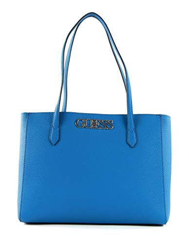 Guess Uptown Chic Elite Tote Uptown Chic Elite - Mono para mujer, turquesa, Talla única, Clásico.