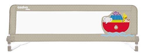 Asalvo 11985 - Barrera de Cama 2 en 1, Diseño Arca de Noé