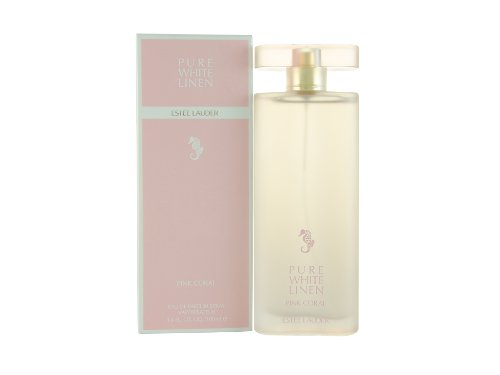 Estee Lauder Pure White Linen Pink Coral 100 ml Eau de Parfum Spray für Sie, 1er Pack (1 x 100 ml)