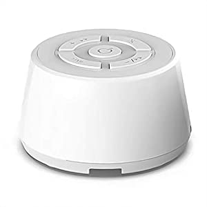 Portable White Noise Machine for Sleeping | 9 Soothing, Natural Sounds with Nightlight | Sound Machine for Adults & Baby Sleep Therapy