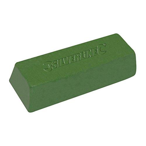 Silverline 107889 Polierpaste, grün 500 g
