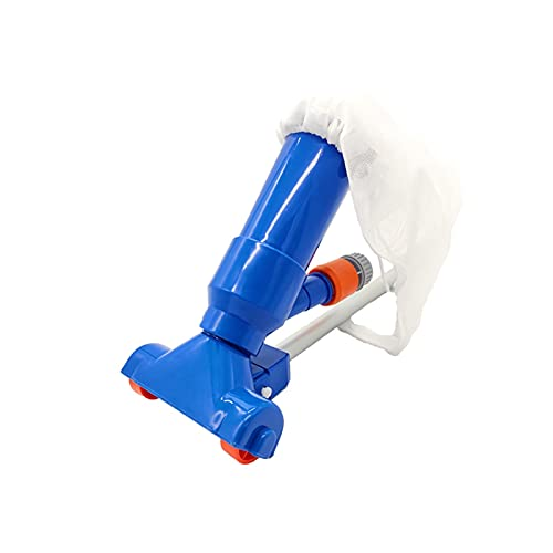 ZHANGAIGUO CCCZY Piscina Cabeza de vacío Piscina Azulejo de Pared Cepillo Limpio con 46IN Hojas Skimmer Net Cepillo de Limpieza Accesorios Natación Herramientas