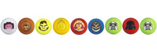 Koosh Star Wars Angry Birds Set of 9 Star Wars Character Balls