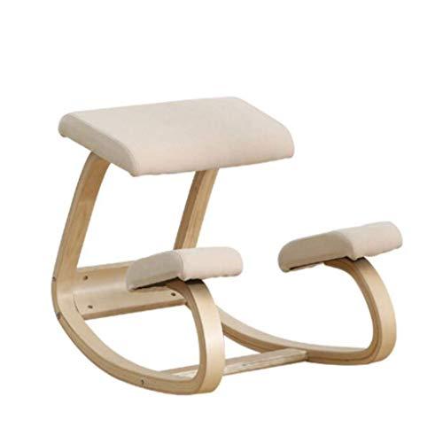 YAMMY Silla ergonómica Adecuada para la corrección de la Postura en la Oficina y el hogar Banco de...