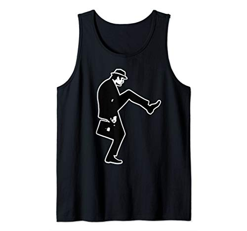 The Ministry of Silly Walks Monty Shirt Python Tank Top