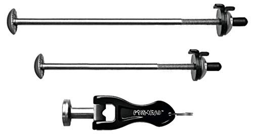 Pinhead Bicycle Locking Skewer Set, 2 Pack
