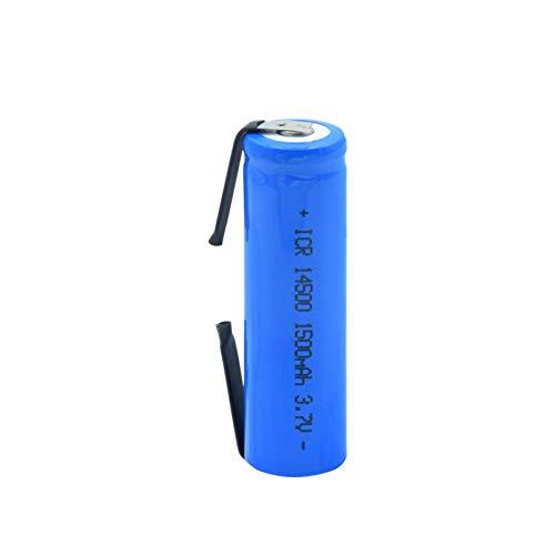RitzyRose Batería De Litio Li-Ion De 3.7v 5000mah ICR 26650, CéLulas para Los Walkietalkies Ligeros del LED 8pieces
