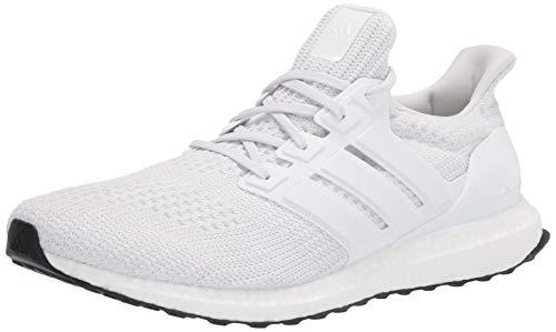 adidas Men's Ultraboost DNA Running Shoe, White/White/Black, 9.5