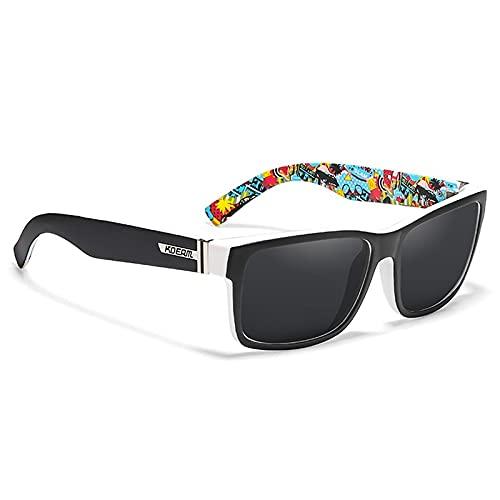 NBJSL Gafas de sol deportivas Cuadradas al aire libre Hd polarizadas para conductor Espejo Gafas de sol Exquisito embalaje de regalo