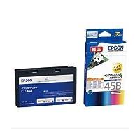 【純正品】 エプソン(EPSON) インクカートリッジ 4色セット1体型(大容量) 型番:ICCL45B 単位:1個