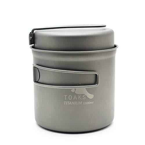 TOAKS Titanium 1100ml Pot with Pan