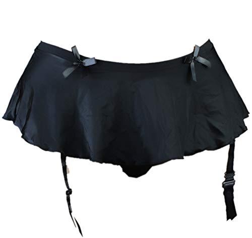 aishani Sissy Pouch Panties Men's Skirted Mooning Bikini Briefs Girly Underwear Sexy for Men