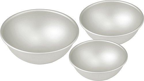 Hemisphere Ball Cake Pans - Set of 3 Different Sizes