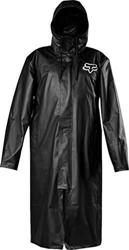 Fox Racing Pit Regenjacke für Herren, Herren, PIT RAIN JACKET, schwarz, X-Large