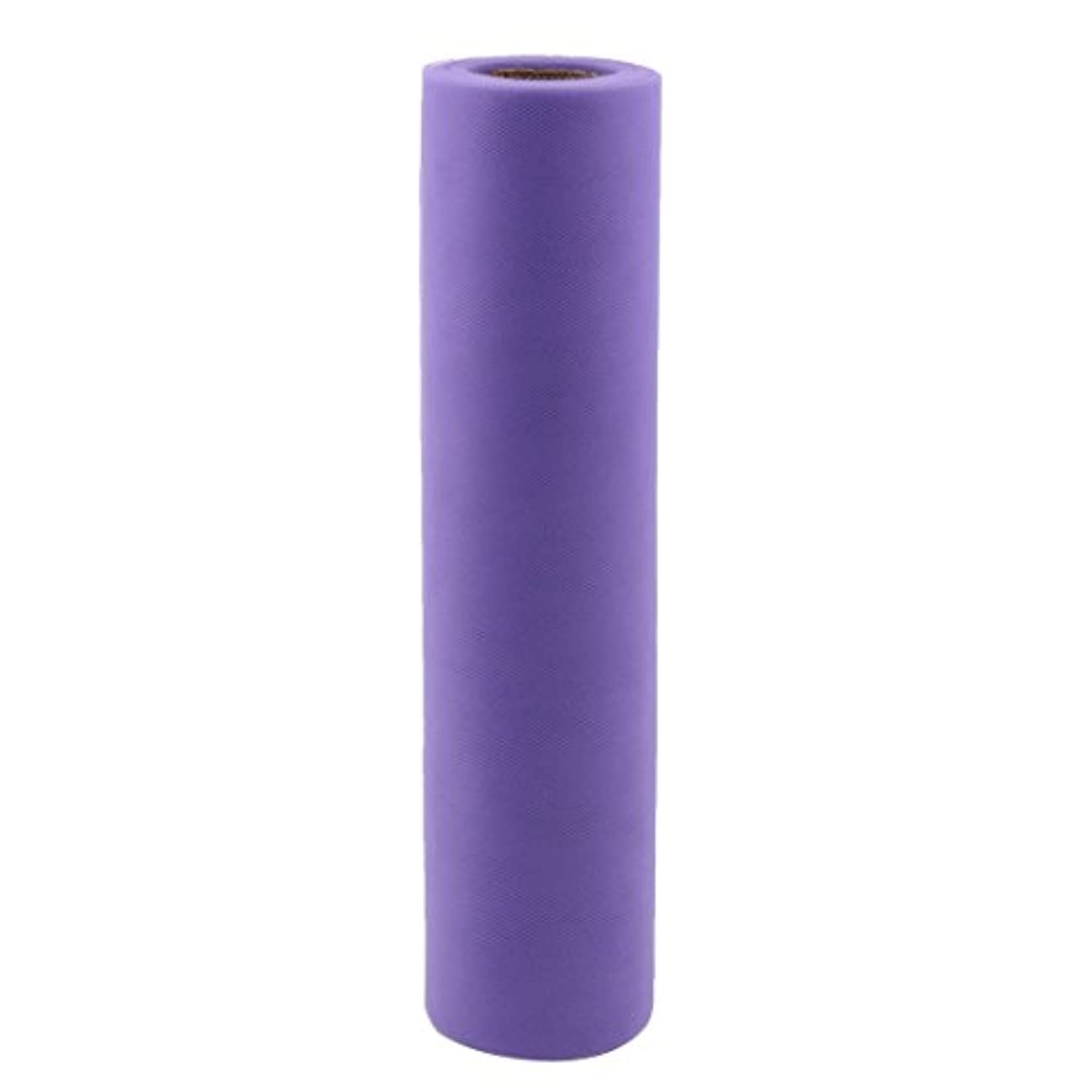 uxcell? Gift Packing Wrapping Sewing DIY Decor Voile Tulle Spool Roll 12 Inch x 25 Yards Purple