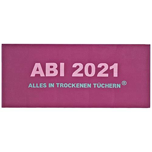 Egeria Duschtuch Abi 2021 Größe 75x180 cm Farbe Beere Handtuch Frottier Baumwolle