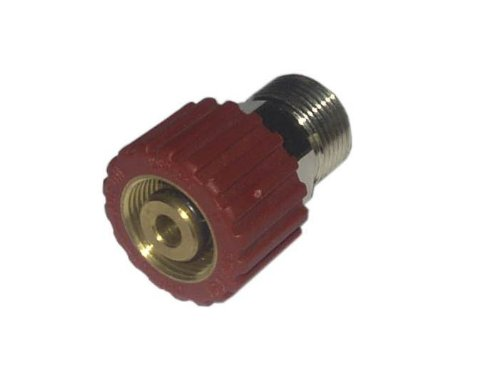 Drehkupplung für Hochdruckschlauch M22x1,5 Handverschraubung Griffschutz