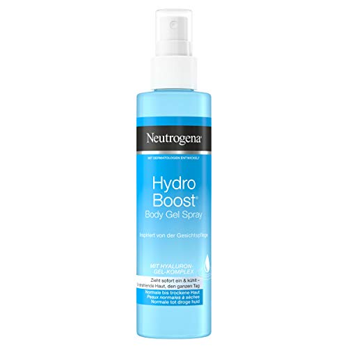 Neutrogena Hydro Boost Bodylotion Spray, mit Hyaluron, für normale & trockene Haut, 200ml