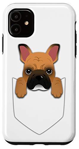 iPhone 11 Pocket Graphic Fawn French Bulldog Dog Case
