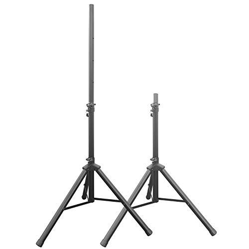 2 Stück Boxenständer Stativ Ständer für Audio Boxen Stage Live DJ Club Lautsprecher Speaker Modell: BS3x2