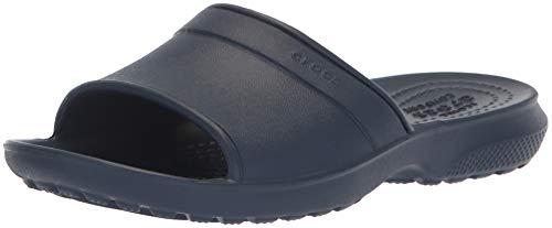 Crocs Classic Slide Kids 204981-410, Sandali a Punta Aperta Unisex-Bambini, Blu (Navy), 28/29 EU