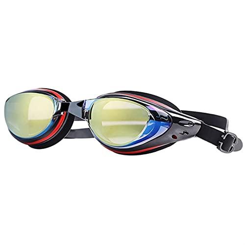 siqiwl Gafas de Natación Anti-Niebla Impermeable Gafas de natación Profesional Arena Racing Juego Gafas de natación