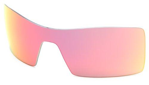 Oakley RL-Oil-rig-9 Lentes de reemplazo para gafas de sol, Iridium De Rubí, Talla Única Unisex Adulto